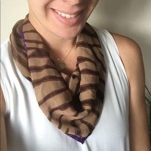 Laura Ashley 100% silk scarf - tiger print 🐯